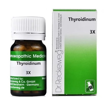 Dr Reckeweg Thyroidinum 3X Trituration Tablets