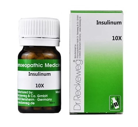 Dr Reckeweg Insulinum 10X Trituration Tablets