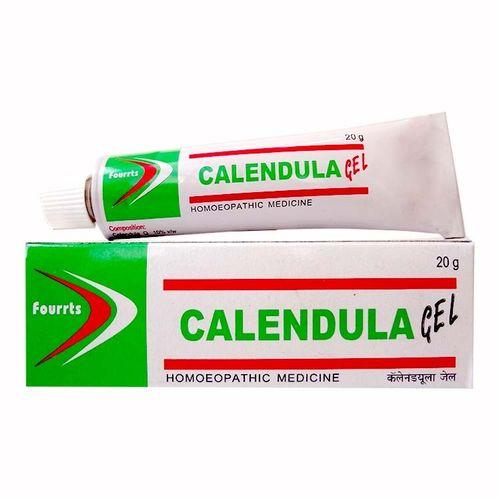 Fourrts Calendula Gel for Wounds, Cuts -Pack of 3