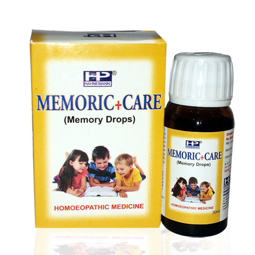 Hahnemann pharma Memoric care drops for weak memory with anacardium