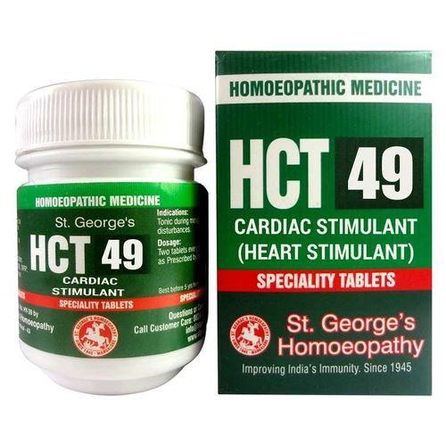 St Georges HCT No 49 Homeopathic Cardiac Stimulant Tablets