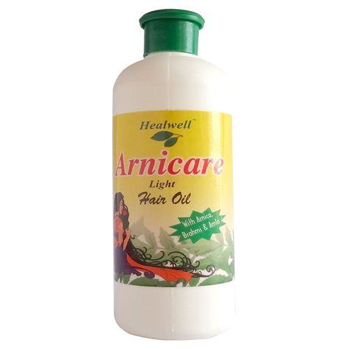Healwell Arnicare Light Hair Oil with Arnica, Brahmi and Amla-PACK OF 3