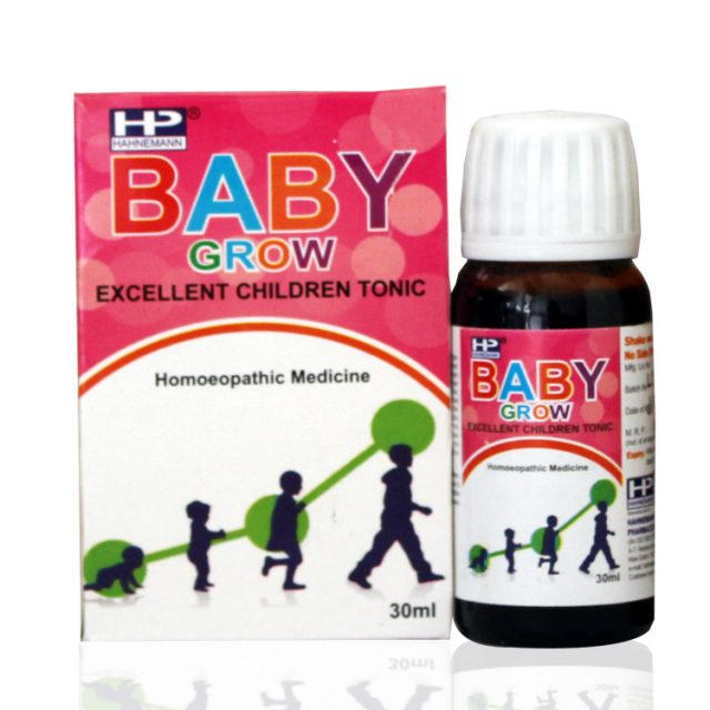 Hahnemann pharma Baby Grow - Hoemopathy children's  tonic