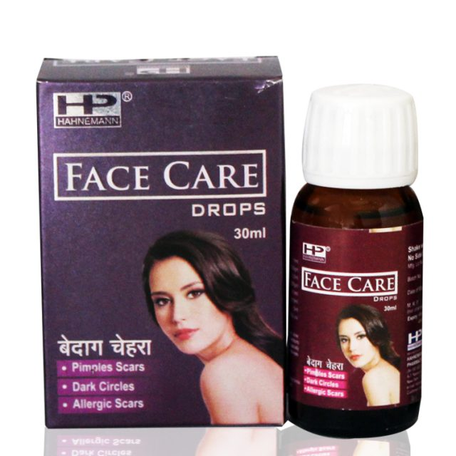 Hahnemann pharma Face Care drops for pimples, dark circles, scars