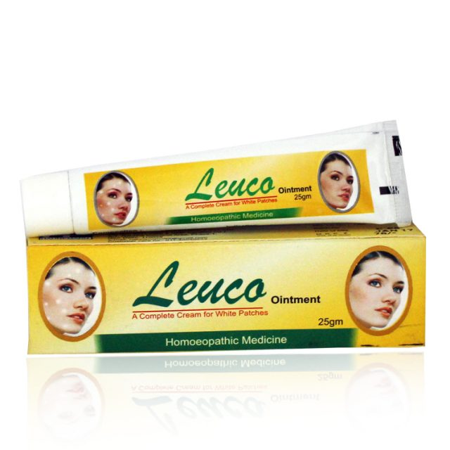Hahnemann pharma Leuco Ointment for Leucodermic patches (White & Reddish Patches)