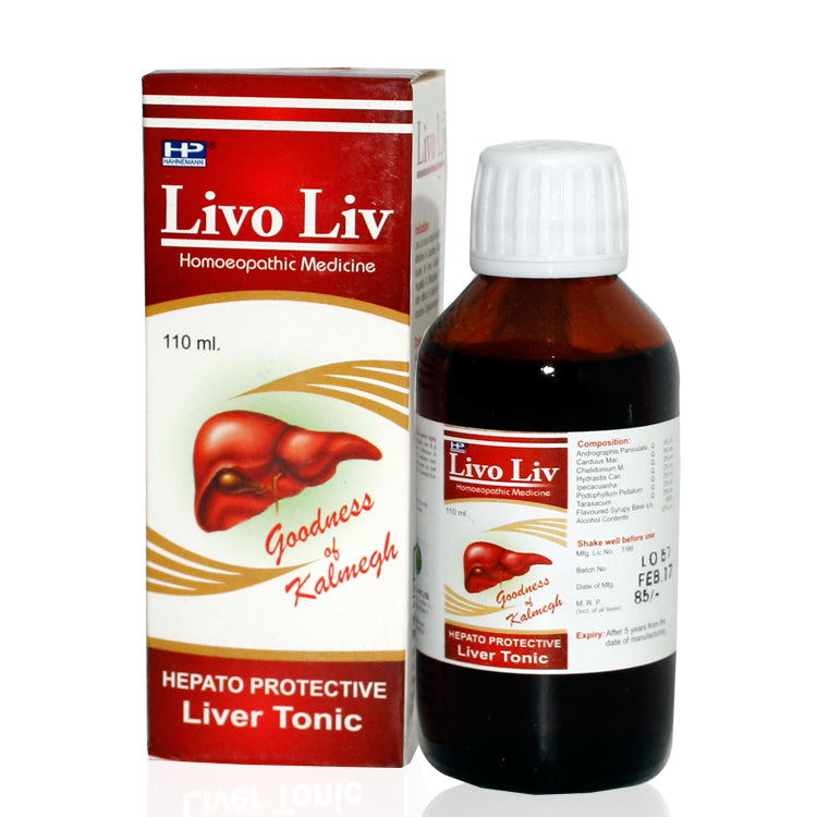 Hahnemann Livo Liv Liver tonic, Remedy for Enlarged liver