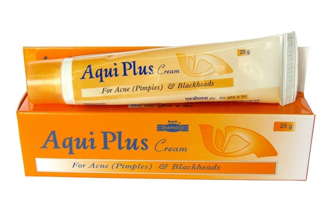 Hapdco Aqui Plus cream for Acne (Pimples) and Blackheads