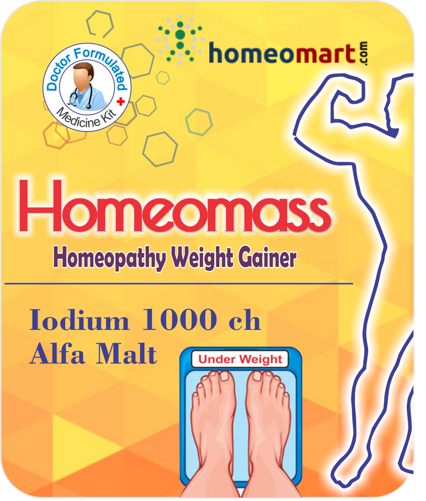 Homeopathy weight gain alfamalt iodium 1m