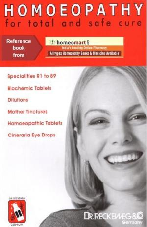 Homeopathy for total & safe cure, Dr Reckeweg Medicine Book in English, 125 Pages
