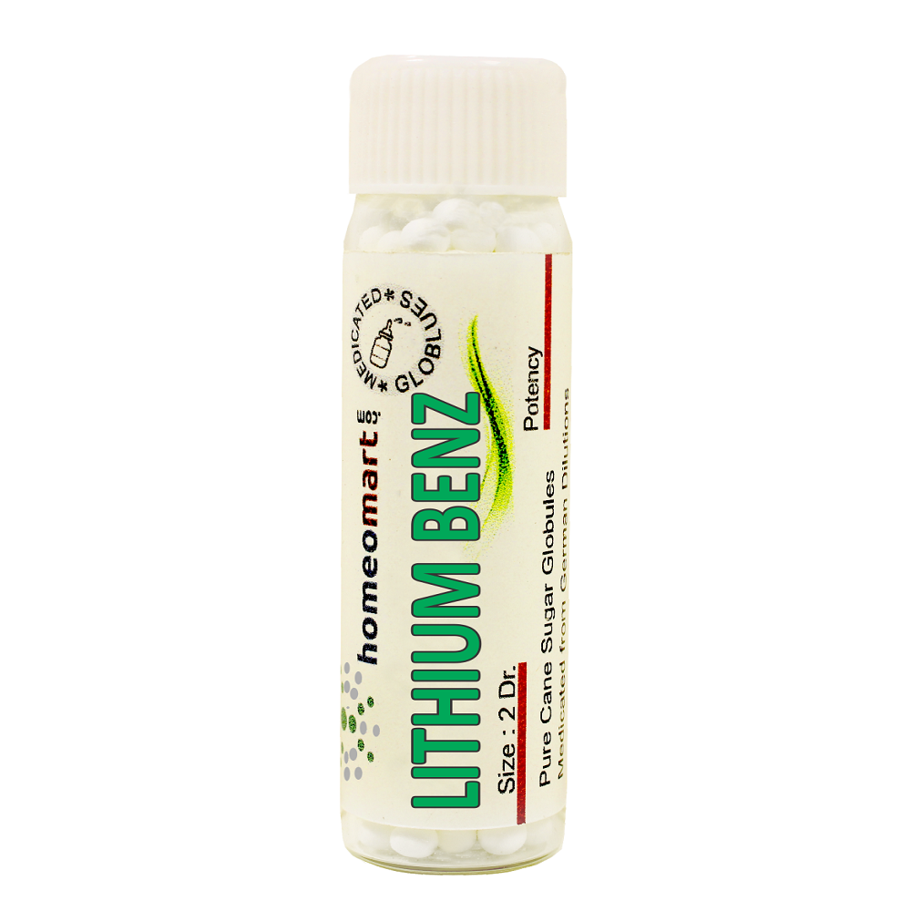 Lithium Benzoicum Homeopathy pellets