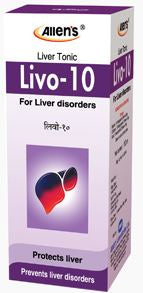 Allens Livo-10 Tonic for Liver and Gall bladder