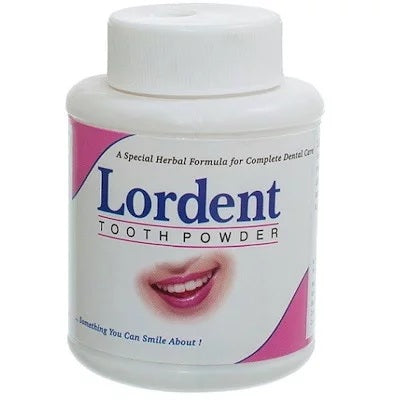 Lordent Tooth Powder for Bleeding Gums and Teeth Sensitive