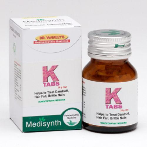 Medisynth K Tablets for Dandruff, Hair loss and Brittle Nails