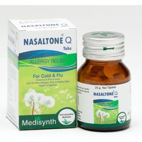 Medisynth Nasaltone Tablets - Allergy Relief for Cold and Flu