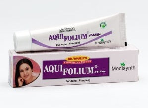 Medisynth Aquifolium Cream - Treats acne & blackheads