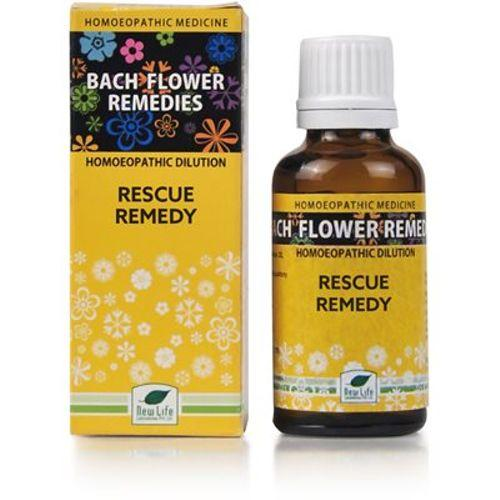New Life Bach Flower Rescue Remedy