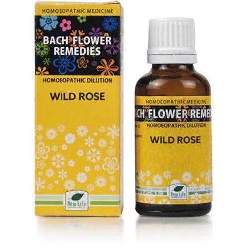 New Life Bach Flower Wild Rose