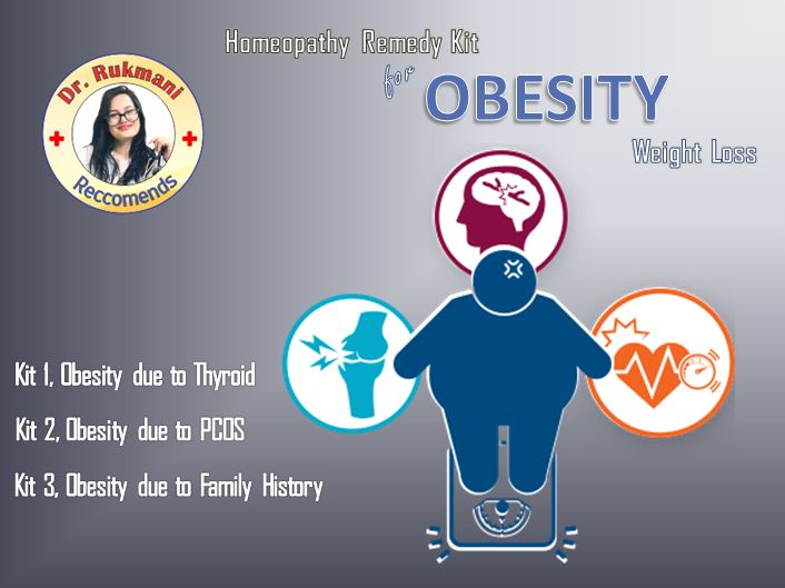 Homeopathy Obesity treatment homeopathy kit