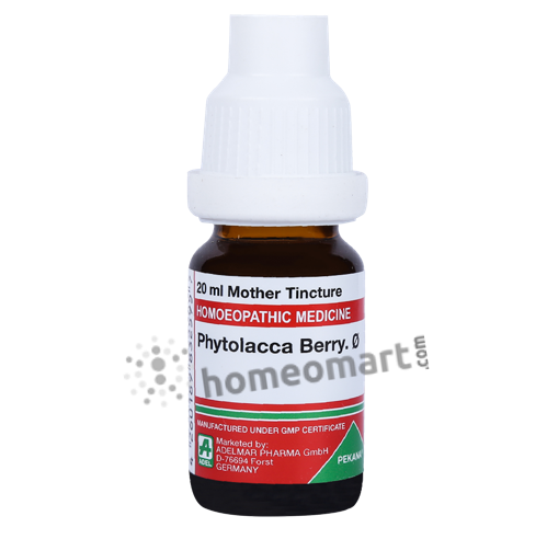 Phytolacca Berry Homeopathy Mother Tincture Q