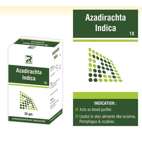 Dr Raj Azadirachta Indica 1X , Blood purifier, for Eczema