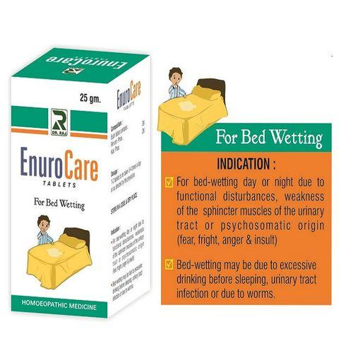 Dr Raj Enurocare Tablets for bed wetting (enuresis)