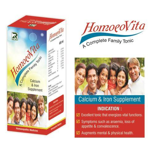 Dr Raj Homoeovita tonic with Ginseng (Calcium & Iron Supplement)
