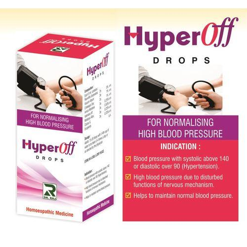 Dr Raj Hyperoff Drops for Hypertension (High BP)