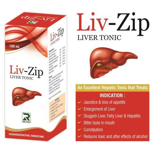 Dr Raj Liv-Zip Syrup for fatty liver, jaundice