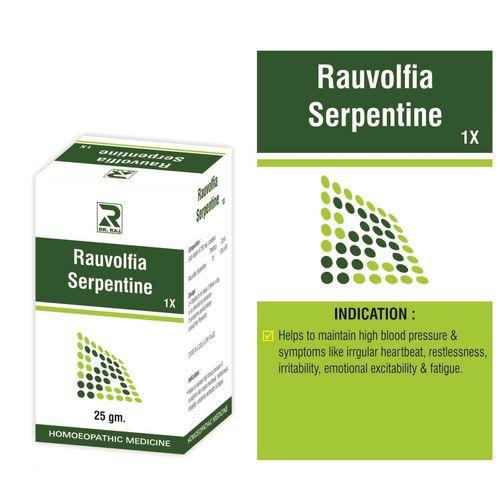 Dr Raj Rauvolfia Serpentine 1X  for hypertension,  high BP