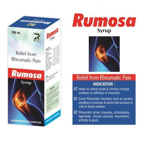 Dr Raj Rumosa Syrup for Rheumatic, Muscle pain