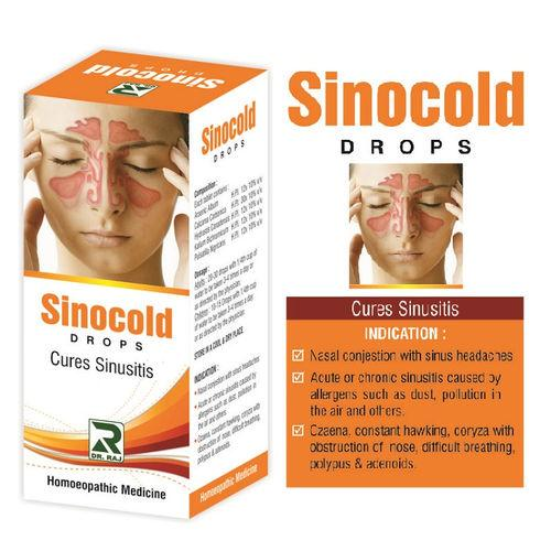 Dr. Raj Sinocold Drops - Relief From Sinusitis