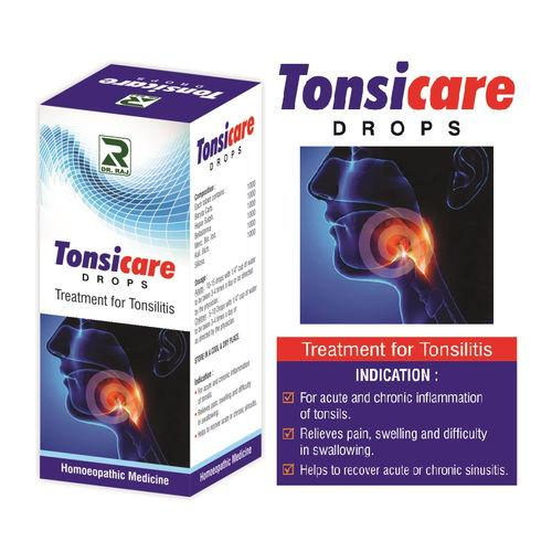 Dr Raj Tonsicare Drops for Tonsils, Throat Infection
