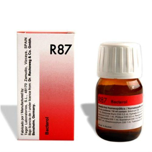 Dr.Reckeweg R87 anti Bacterial drops, side effect-free Immunization formula