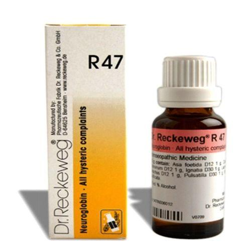 Dr.Reckeweg R47 drops for hysteric complaints, throat constriction, nervosity