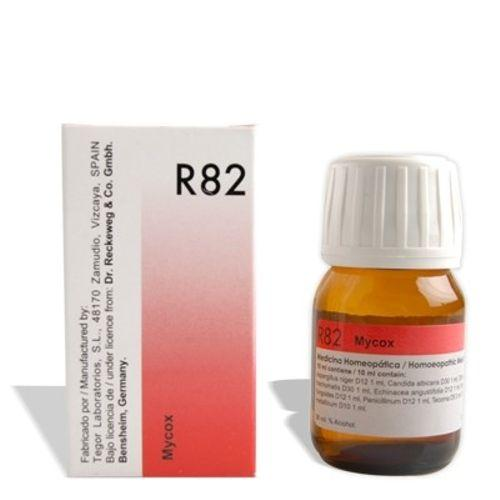 Dr.Reckeweg R82 Mycox anti fungal drops for ringworm, jock itch, vaginal yeast, fungal Skin infection