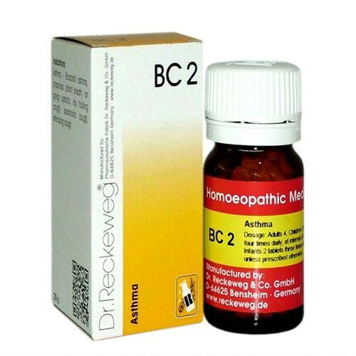 Dr Reckeweg Biochemic combination Tablets BC2 for Asthma