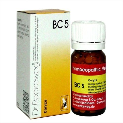 Dr.Reckeweg Biochemic Combination Tablets BC5 for Coryza (Nasal Inflammation)