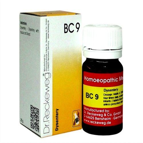 Dr.Reckeweg Biochemic Combination Tablets BC9 for Dysentery