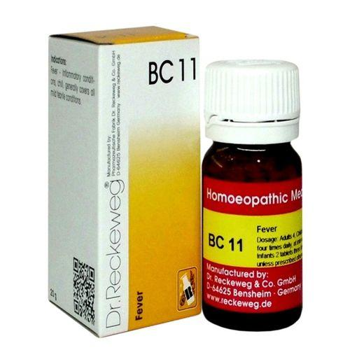 Dr Reckeweg Biochemic Combination Tablets BC11 for Fever (Chill)