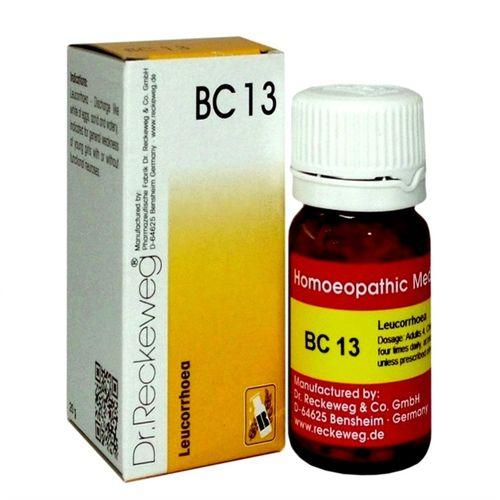 Dr Reckeweg Biochemic Combination Tablets BC13 for Leucrorrhoea, Vaginal discharge