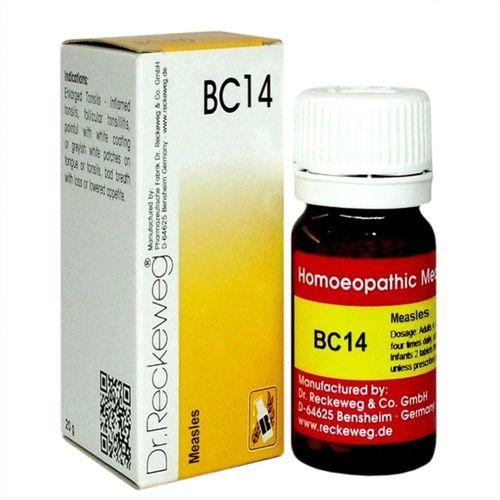 Dr.Reckeweg Biochemic Combination Tablets BC14 for Measles