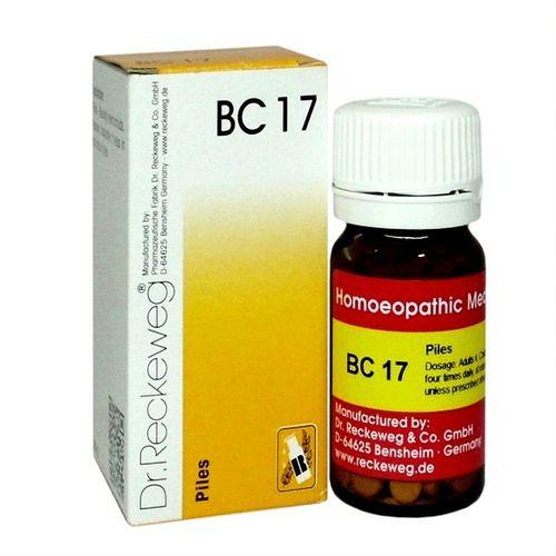 Dr.Reckeweg Biochemic Combination Tablets BC17 for Piles, fissures, Hemorrhoids