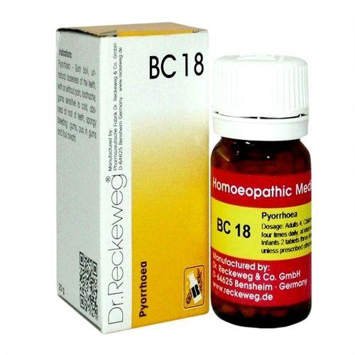 Dr Reckeweg Biochemic Combination Tablets BC18 for Pyorrhoea, Bleeding Gums