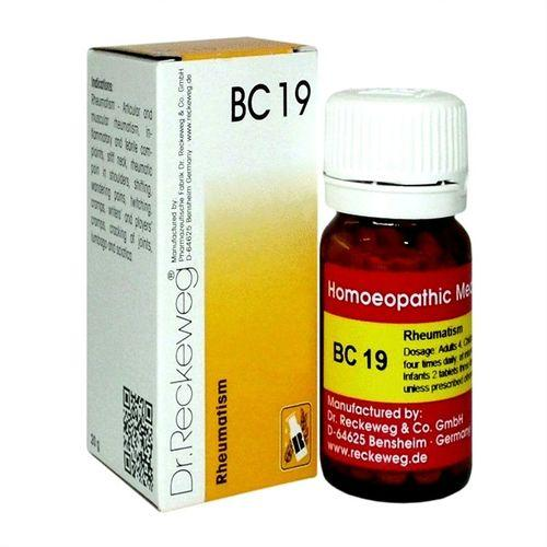 Dr.Reckeweg Biochemic Combination Tablets BC 19 for Rheumatism