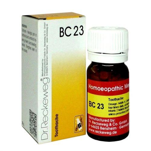 Dr Reckeweg Biochemic Combination Tablets BC23 for Toothache, Bleeding Gums