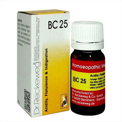 Dr.Reckeweg Biochemic Combination Tablets BC25 for Acidity, Flatulence, Indigestion