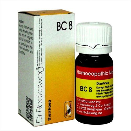Dr Reckeweg Biochemic Combination Tablets BC8 for Diarrhoea (loose motions)