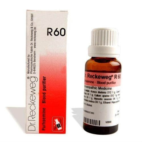 Dr.Reckeweg R60 Blood purifier drops for Impurities, Skin affections