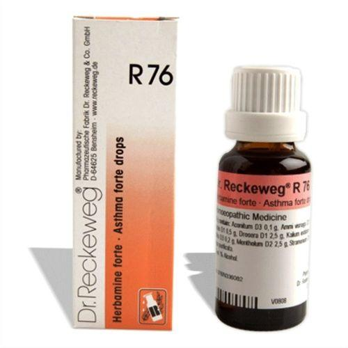 Dr.Reckeweg R76 Asthma Forte drops for Asthmatic symptoms