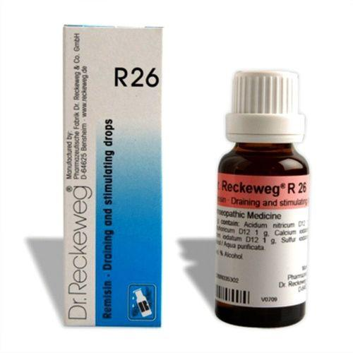 Dr.Reckeweg R26 Draining & Stimulating drops for fatigue, nocturnal perspiration, palpitations